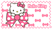 hello kitty with ribbons